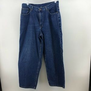 Vintage LL Bean Womens Jeans High Waist Loose Fit